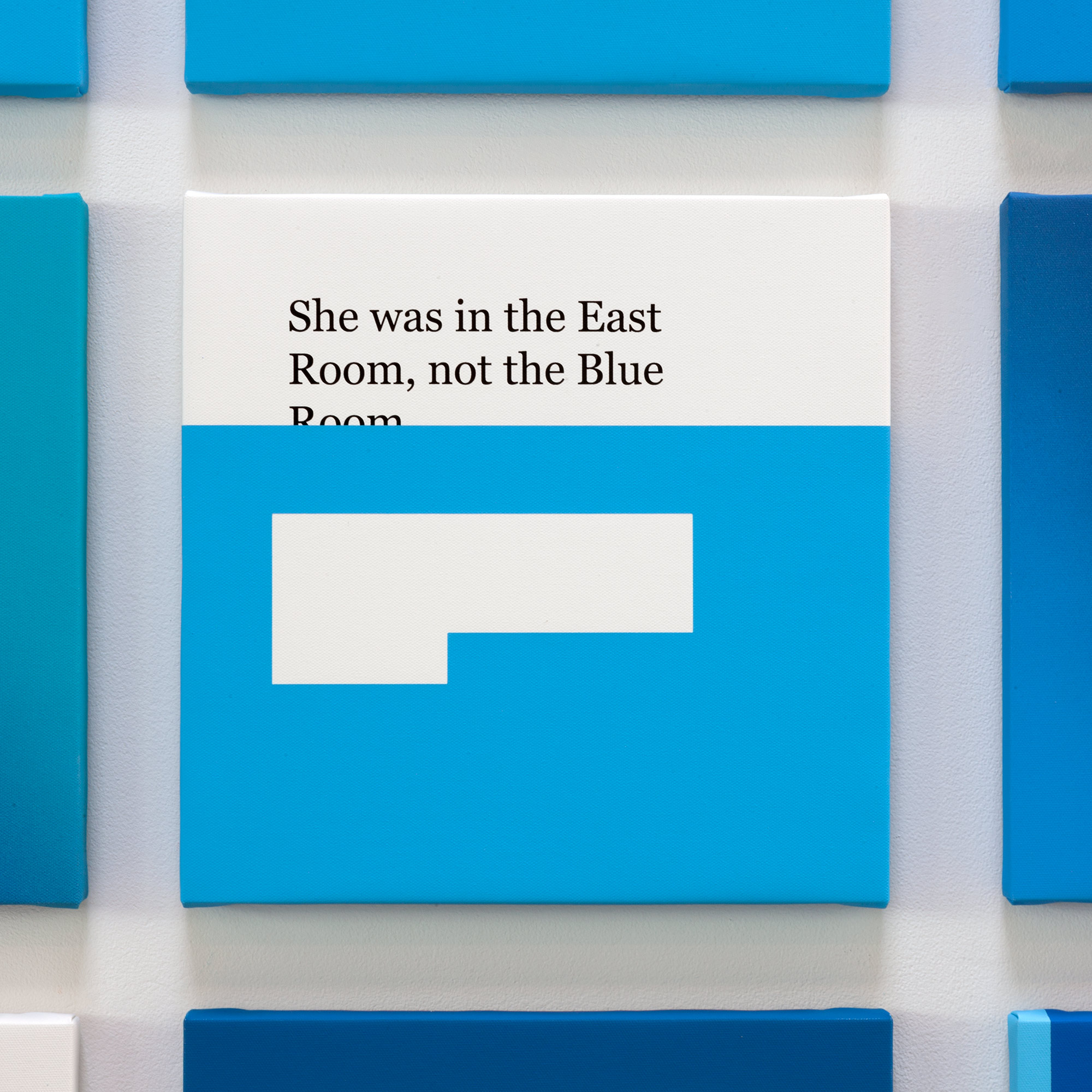 CORRECTIONS: NOT THE BLUE ROOM